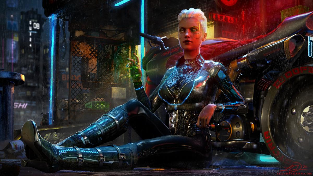 Cyberpunk 2077 Fanart V